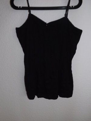 Top black polyester