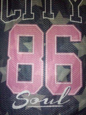 Top schwarz/rosa gr. 38