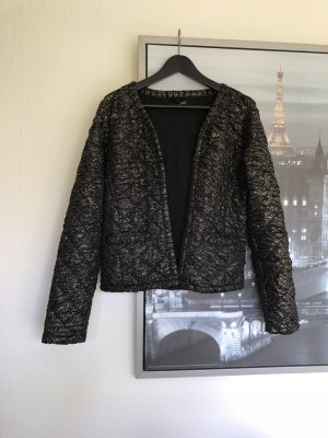 Top Secret Blazer in schwarz mit goldenen Details