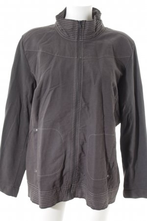 Top Secret Sweatjacke anthrazit Casual-Look