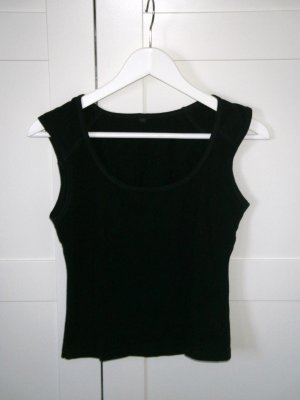 Top, Shirt, H&M, schwarz, Gr. 34