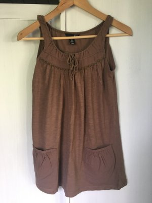 H&M Strappy Top light brown