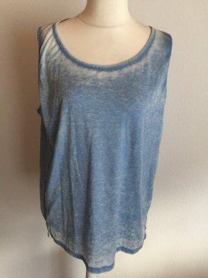 Hilfiger Denim Oversized Shirt azure-cornflower blue
