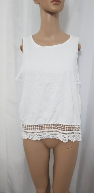 top shirt oberteil weiß