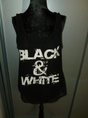 Top Shirt schwarz Multiblu