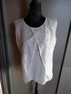 Top Shirt Spitze weiß Blanc du Nil