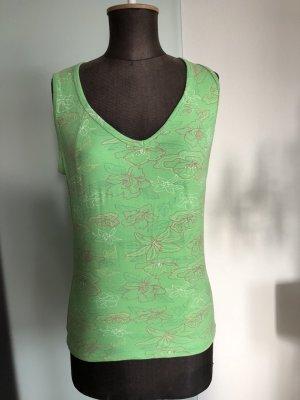 Top Shirt T-Shirt Tchibo TCM Gr 40 42 M L Blümen Muster