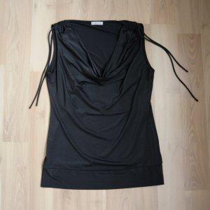 Top Shirt von More&More in Gr. 38 schwarz glänzend