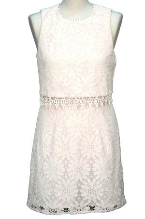 Top Shop Kleid in Weiß