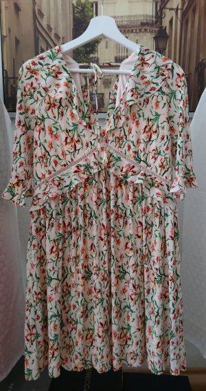 TOP SHOP: Sommerkleid in Blumenmuster, Große 42/44