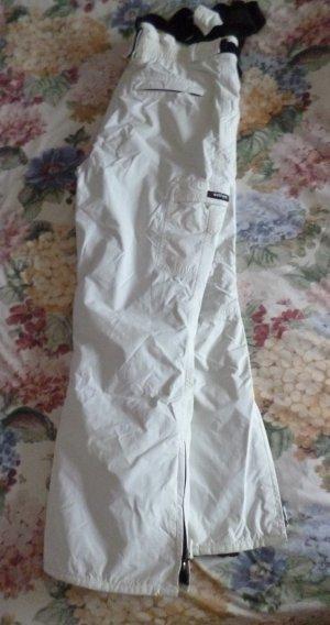 active Snow Pants white-black synthetic fibre