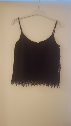 Hennes Collection by H&M Crop-top noir