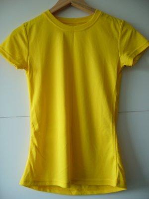 Top Sport T-Shirt gelb Crivit XXS XS 32 34