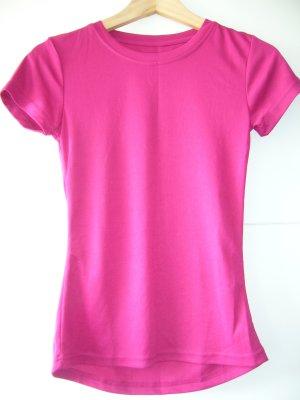 Crivit T-Shirt pink-neon pink polyester