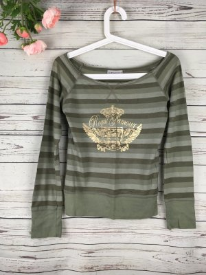 Top T-Shirt Clockhouse Khaki Gold