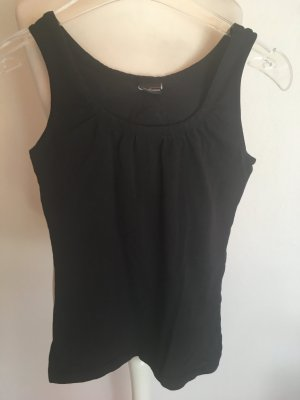Top Tanktop Basic schwarz stretch Gr. XS
