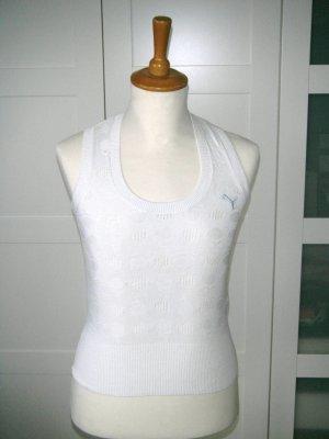 Puma Camiseta sin mangas blanco-crema