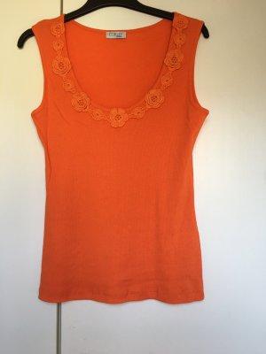 Top Trägertop *Gr. 40* Orange *corley*