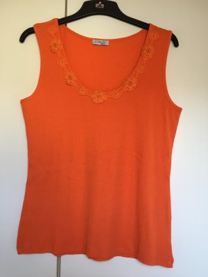 Top Trägertop *Gr. 42* Orange *corley*