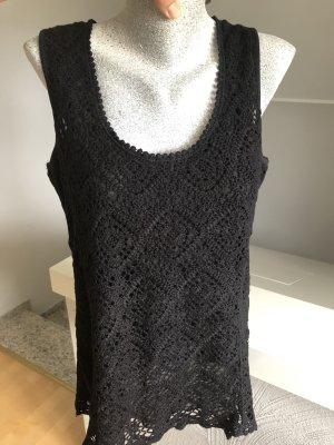 Tredy Crochet Top black
