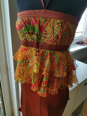 MNG Top linea A multicolore
