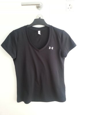 Under armour Sports Shirt black-silver-colored
