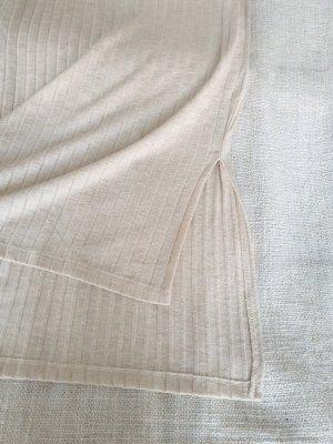 Vero Moda Chemise côtelée blanc cassé