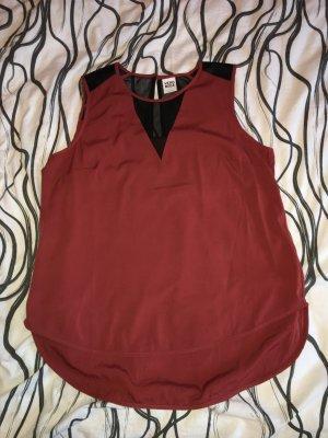Vero Moda Blusa nero-rosso