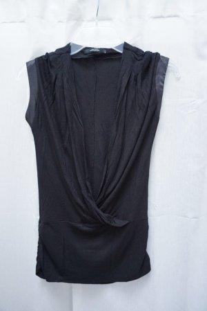 Top Vero Moda, scharz, Gr. S, Wickel-Top, V-Ausschnitt, Bluse, neuwertig, NP 30€