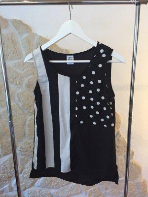 Top Vero Moda xs schwarz weiß