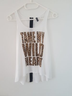 H&M Divided A Line Top white-natural white