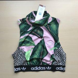 Adidas Originals Sporttop rosé-groen