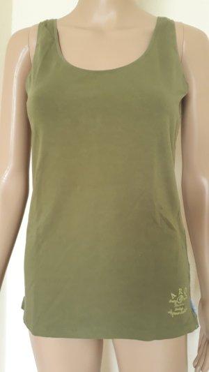 Arqueonautas Basic Top olive green-khaki