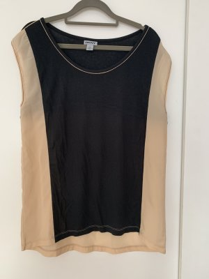 DKNY Basic Top cream-black