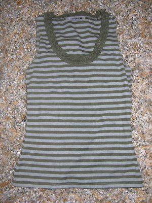 TOP VON FLASHLIGHTS IN KHAKI - GRAU GR. 32/34 NEU
