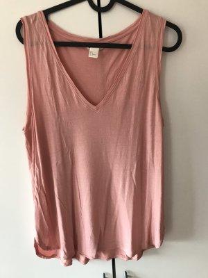 H&M Canotta color oro rosa