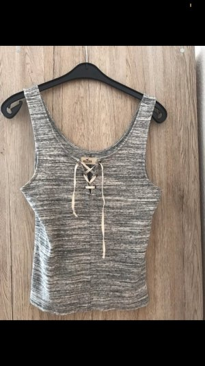 Hollister Cropped top zilver
