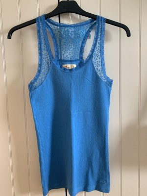 Hollister Lace Top cornflower blue