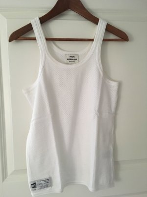Mads nørgaard Tank Top white