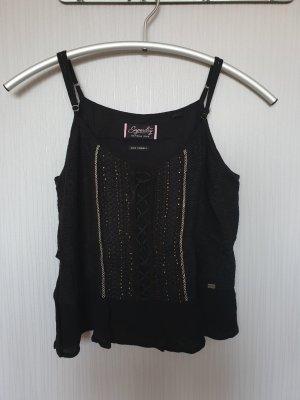 Superdry Haut tricotés noir