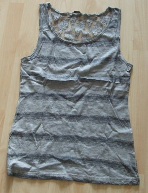 Urban Surface Lace Top grey