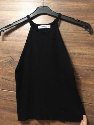 Zara Halter Top black