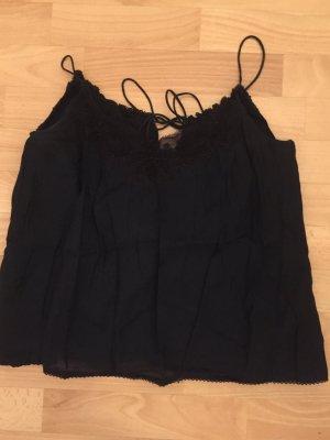 Top, von Zara, schwarz