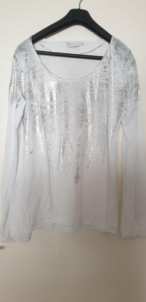 Yaya Sweatshirt blanc-beige clair