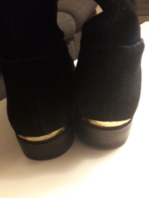 Michael Kors Overknees black-gold-colored