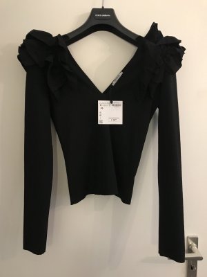 Zara Flounce Top black
