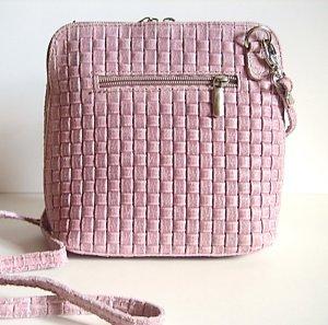 Topaktuelle Minitasche Umhängetasche Echtleder Made in Italy