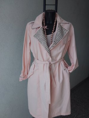 Made in Italy Trench rosa pallido