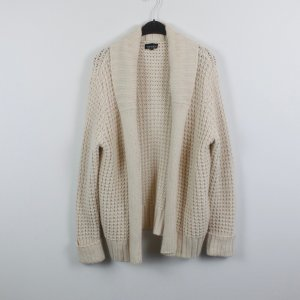 Tophop Cardigan Strickjacke Gr. 40 wollweiß (18/10/229)