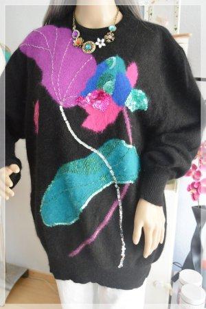 Toplike Vintage Pullover gr.42 retro Lammwolle / angora
